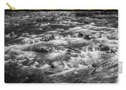 Fall Colors Stream Great Smoky Mountains Painted Bw Carry-all Pouch