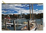 Fall In The Harbor Carry-all Pouch
