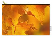 Fall Maple Leaves Carry-all Pouch by Elena Elisseeva
