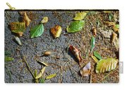 Fallen Leaves Carry-all Pouch by Carlos Caetano