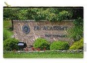 Fbi Academy Quantico Carry-all Pouch