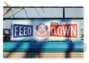 Feed The Clown Carry-all Pouch