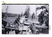 Feeding Bear Yellowstone National Park Carry-all Pouch