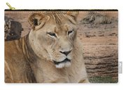 Female African Lion Carry-all Pouch