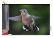 Female Anna's Hummingbird Carry-all Pouch