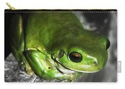 Fence Frog Carry-all Pouch