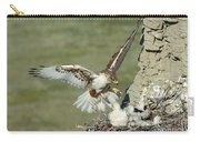 Ferruginous Hawk And Chicks Carry-all Pouch