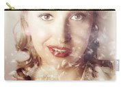Fifties Beauty In Nature And Natural Light Carry-all Pouch