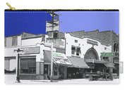 Film Homage Director Allan Dwan Soldiers Of Fortune 1919 Lyric Theater Tucson Arizona 1919-2008 Carry-all Pouch