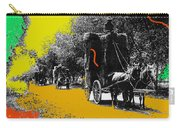 Film Homage Haskell Wexler Days Of Heaven Hay Wagons 1878-2008 Carry-all Pouch