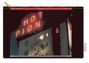 Film Homage Hot Pion 2010 Screen Capture Pioneer Hotel Tucson Arizona Carry-all Pouch