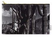 Film Homage Jean Harlow Bombshell 1933 Saguaro National Monument Tucson Arizona Duo-tone 2008 Carry-all Pouch