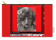 Film Homage Joan Crawford Louis Milestone Rain 1932 Collage Color Added 2010 Carry-all Pouch