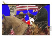 Film Homage Ride Vaquero 1953 1 Hispanic Riders Rodeo Parade Tucson Az 2002-2008 Carry-all Pouch