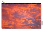 Film Noir Homage Leave Her To Heaven Number 1 Fiery Clouds Casa Grande Arizona 2005 Carry-all Pouch