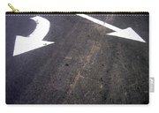 Film Noir The Turning Point 1952 Asphalt Street Arrows Casa Grande Arizona 2005 Carry-all Pouch