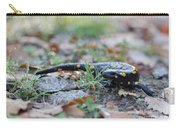 Fire Salamander Fog Droplets Carry-all Pouch