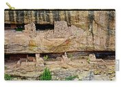 Fire Temple On Chapin Mesa Top Loop Road In Mesa Verde National Park-colorado  Carry-all Pouch