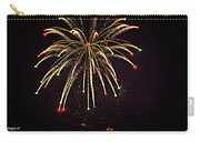 Fireworks In Neon Carry-all Pouch