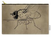 Fishing Fly Patent Carry-all Pouch