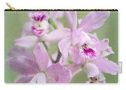 Five Beautiful Pink Orchids Carry-all Pouch