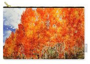 Flaming Aspens 2 Carry-all Pouch