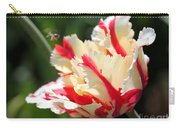 Flaming Parrot Tulip Carry-all Pouch