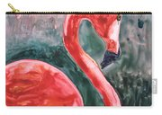 Flamingo Icon Carry-all Pouch