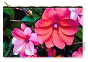 Floral Beauty Carry-all Pouch