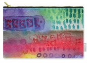 Flower Garden Carry-all Pouch by Linda Woods