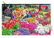 Flower Market In Taksim Square In Istanbul-turkey  Carry-all Pouch