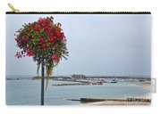 Flowers Along The Seafront Carry-all Pouch