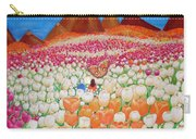 Flowers And Fields Alive With Thy Joy Carry-all Pouch