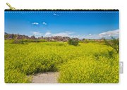 Flowers In The Badlands Carry-all Pouch