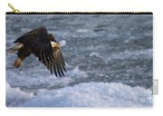 Flying Over Ice Carry-all Pouch