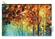 Fog Alley Carry-all Pouch by Leonid Afremov