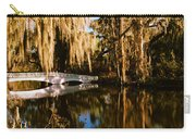 Footbridge Over Swamp, Magnolia Carry-all Pouch