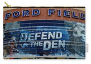 Ford Field Carry-all Pouch