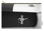 Ford Mustang Gt 350 Grille Emblem Carry-all Pouch