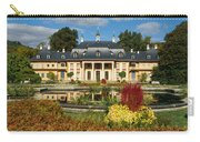 Formal Garden In Front Of A Castle Carry-all Pouch