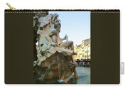 Fountain Of The Four Rivers Carry-all Pouch