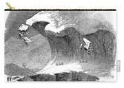 France Mont Blanc, 1851 Carry-all Pouch