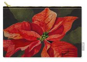 Franci's Poinsettia Carry-all Pouch
