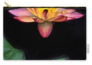 Frog And Waterlily Carry-all Pouch