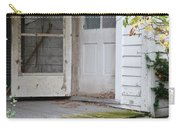 Front Door Of Abandoned House Carry-all Pouch