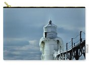 Frozen Lighthouse In Saint Joseph Carry-all Pouch