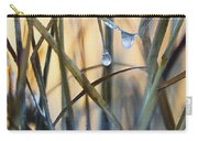 Frozen Raindrops Impasto Carry-all Pouch