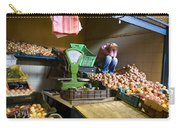 Fruit Stand Woman Carry-all Pouch