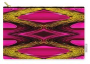 Fuchsia Sensation Zigzags Carry-all Pouch