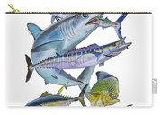 Gamefish Collage Carry-all Pouch